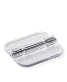 Scharnier aus Acrylglas bzw. Polycarbonat zum Kleben